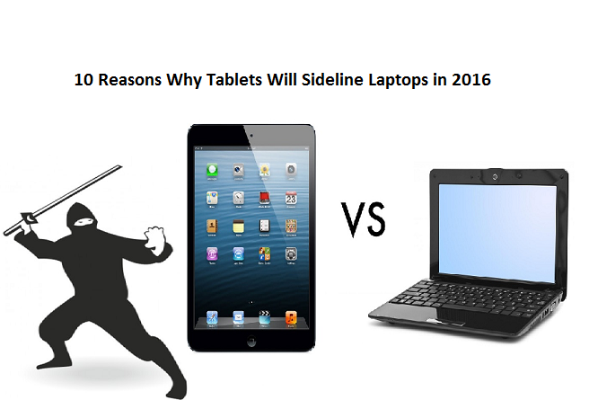 10 Reasons Why Tablets Will Sideline Laptops in 2020
