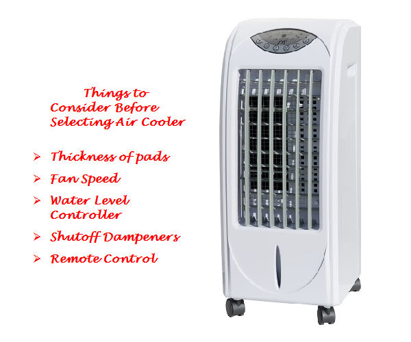 Air Cooler Buying Guide- Tips to Choose Right Air Coolder