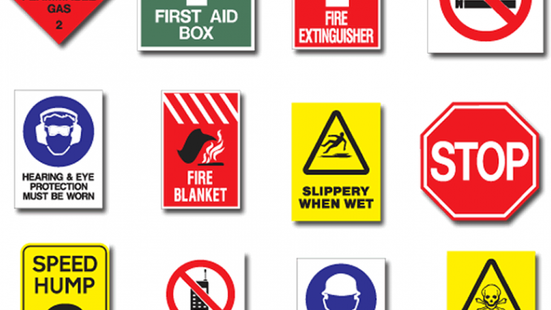 Safety Sign Must Aware With Safety Signs