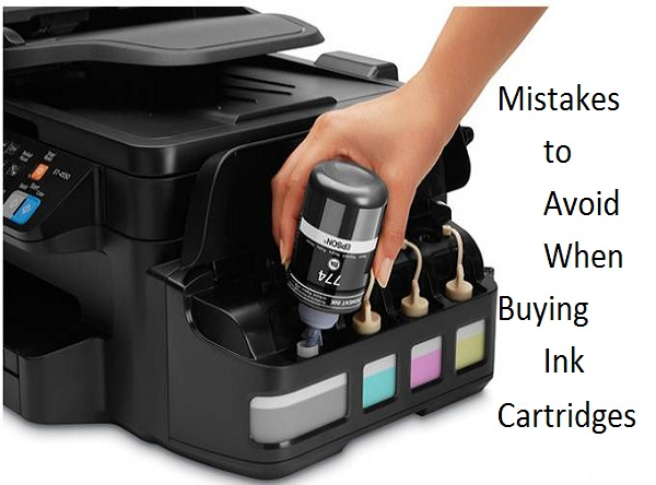 5 Mistakes to Avoid When Buying Ink Cartridges