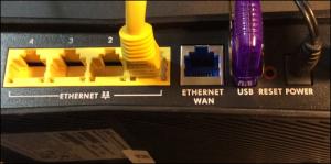 Router USB Port