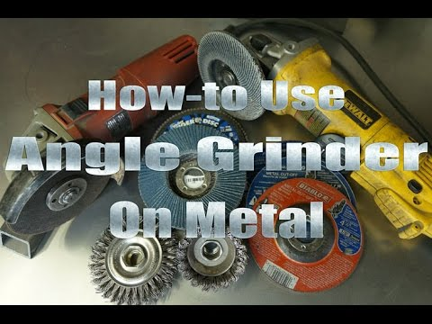 7 Easy Tips to Use an Angle Grinder