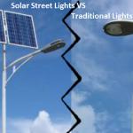 Solar Street Lights v/s Traditional Street Lights –List of Major Difference