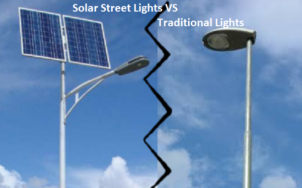 Solar Light Vs. Traditional Street Lights- Key Differences