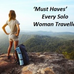 Packing Tips: 5 'Must Have' for Every Solo Woman Traveller