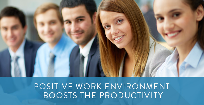 working environment and productivity Such a scene undoubtedly affects productivity, as it becomes  how are health  and productivity really affected by working environment and.