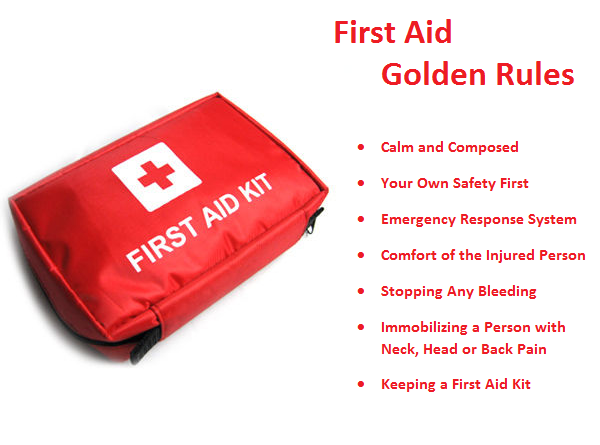 First Aid Golden Rules