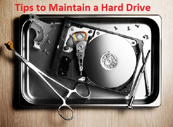 5 Tips to Maintain Your Hard Drives