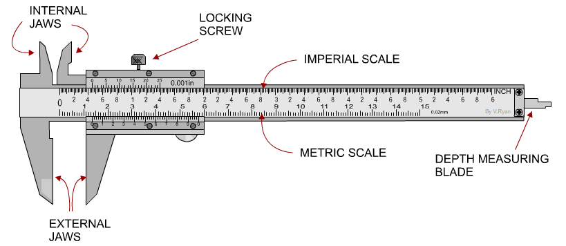 get the most precise measurements with vernier calipers. Black Bedroom Furniture Sets. Home Design Ideas