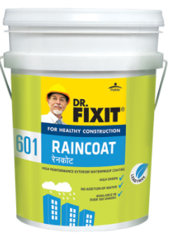 Protect the walls of your house from dampness, flaking & seeping with Dr. Fixit Raincoat