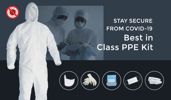 Buy Certified Best PPE Kits Online in India at Lowest Price